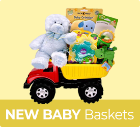 New Baby Baskets from Bob's Gift Baskets