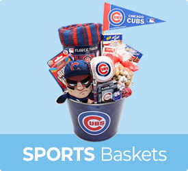 Sports Baskets from Bob's Gift Baskets