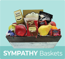 Sympathy Baskets from Bob's Gift Baskets