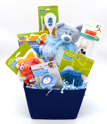 Baby Boy Canvas from Bob's Gift Baskets
