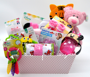 Baby Girl Polka Dots from Bob's Gift Baskets