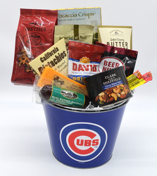 Cubs Cheese and Crackers from Bob's Gift Baskets