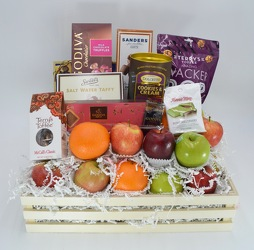 Fruit and Gourmet Crate from Bob's Gift Baskets