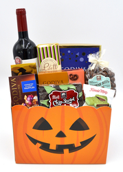 Jack O Winetern from Bob's Gift Baskets