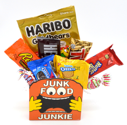 Junk Food Junkie from Bob's Gift Baskets