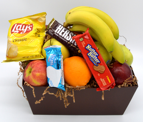 Medium Fruit Box with Snacks from Bob's Gift Baskets