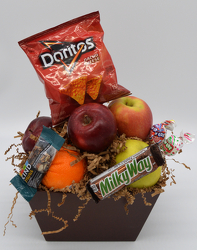 Small Fruit Box with Snacks from Bob's Gift Baskets