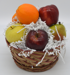 Small Round Fruit Basket from Bob's Gift Baskets