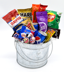 Snack Pail from Bob's Gift Baskets