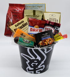 White Sox Cheese and Crackers from Bob's Gift Baskets