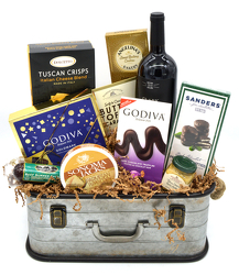 Wine and Cheese Case from Bob's Gift Baskets