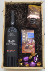 Wine and Chocolate Box from Bob's Gift Baskets