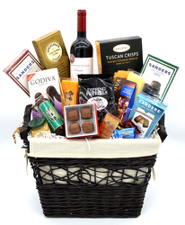 Wine and Chocolate Hamper from Bob's Gift Baskets