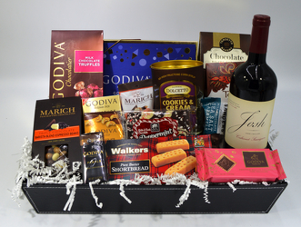 Classic Wine Tray from Bob's Gift Baskets