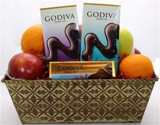 Fruit and Chocolate from Bob's Gift Baskets