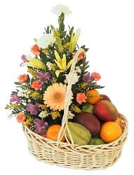 Fruit and Flower from Bob's Gift Baskets