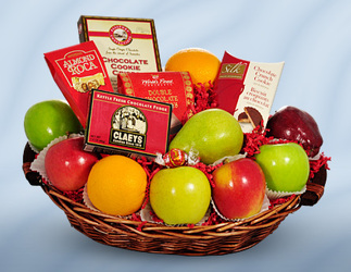 Fruit and Gourmet Tray from Bob's Gift Baskets