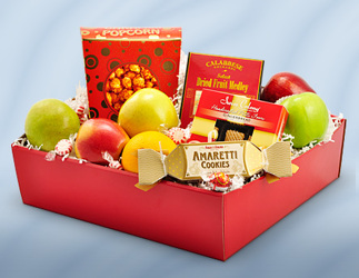 Fruit and Gourmet Box from Bob's Gift Baskets