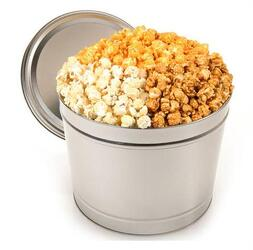 Mixed Popcorn Tin from Bob's Gift Baskets