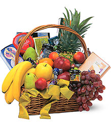 Gourmet Fruit Basket from Bob's Gift Baskets